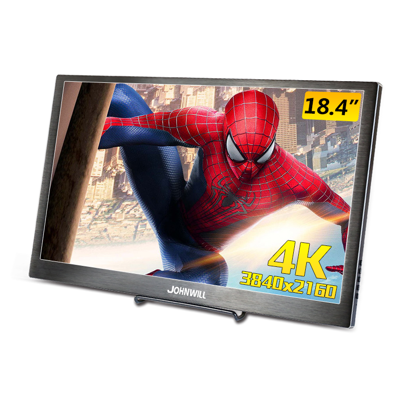 """18.4 Inch 3840X2160 4K IPS Hdmi Portable Gaming Monitor For PS3 PS4 Macbook 17.3"""" Mini PC Computer With USB-C DP Post"""