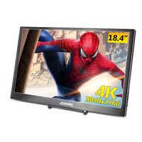 Monitor portátil de 18,4 pulgadas 3840X2160, 4K, IPS, hdmi, para PS3, PS4, Macbook, 17,3