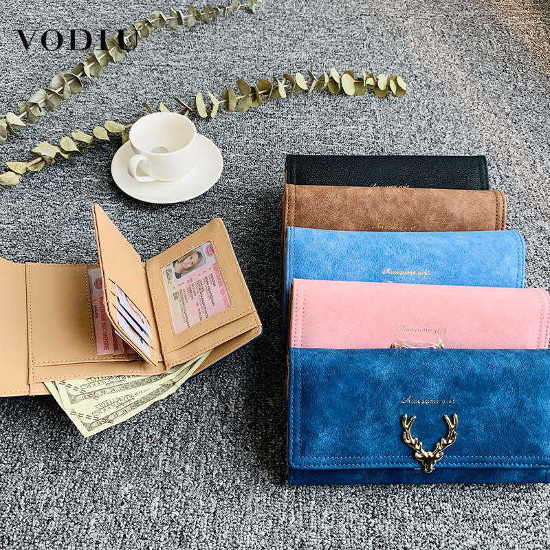 Women's Wallet Purse Fashion Brand Designer Bag Clutch Money Card Holder Thin Long Purse Slim Mini Women Leather Female Wallets