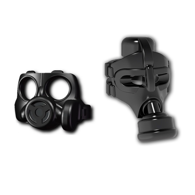 WW2 Military SWAT Gas Mask Building Blocks Special Force Soldier Accessories Weapon MOC Brick Toy Compatible LegoINGlys Military