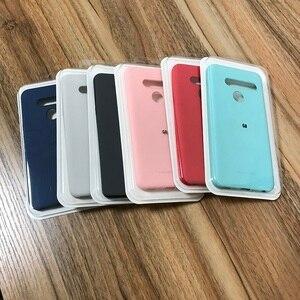Soft Feeling silicon Matte Rubber Case for LG G6 G7 G8 G8S G8X V30 V40 V50 V50S V60 Thinq Q6 Q7 Q60 K40 K40S K50S K8 K9 K10 K11(China)