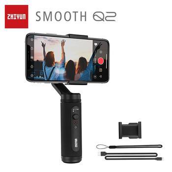 ZHIYUN oficial SMOOTH Q2 teléfono cardán de bolsillo de tamaño avanzado estabilizador de mano móvil para iPhone/Samsung/Huawei/Redmi VS OSMO