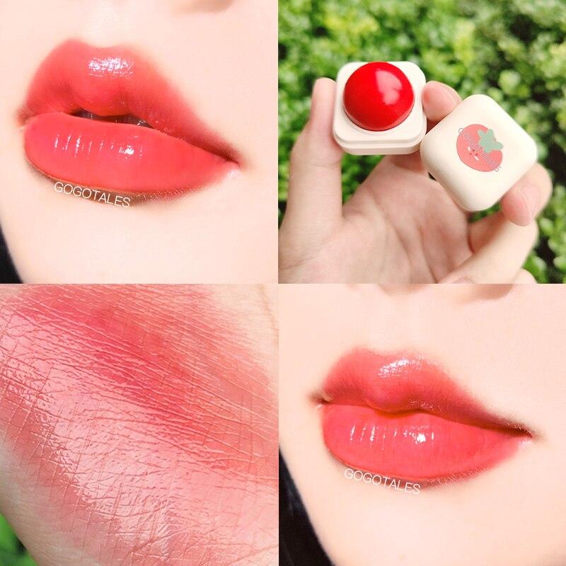 4 farben Sphärische Lippenstift Anhaltende Feuchtigkeit Hydrating Lip Balm Reparatur Peeling Temperatur Farbwechsel Lip Care TSLM1