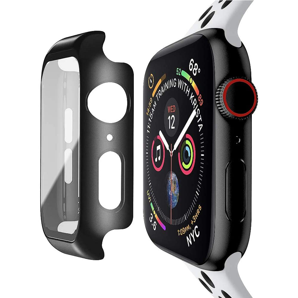 Tempered Glass Screen Protector For Apple Watch Series 6 5 4 3 2 1 SE 44mm 40mm 42mm 38mm iwatch 38 40 42 44 mm Film Protection