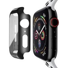 Protector de pantalla de vidrio templado para Apple Watch Series 6 5 4 3 2 1 SE 44mm 40mm 42mm 38mm iwatch 38 40 42 44mm protección de película