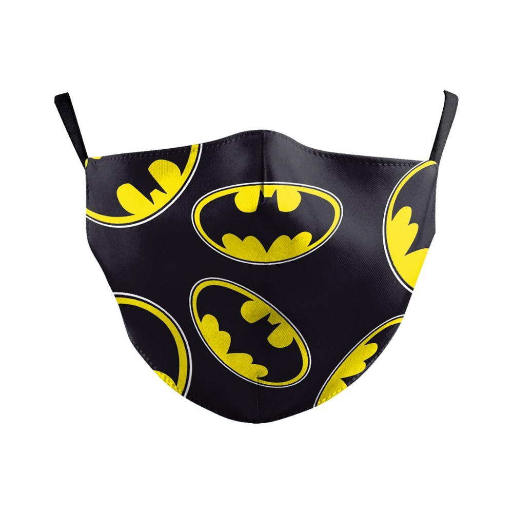 The Dark Knight Batman Bruce Wayne Face Mask Cosplay Adult Dustproof Masks