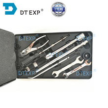 Caja de trabajo para puerta trasera de Pajero, conjunto de herramientas para Montero Shogun V31 V32, V33 V43 V45, 7 piezas