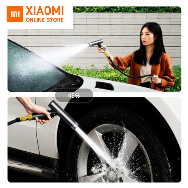 Xiaomi Baseus Water Spray Gun Wash Spray Machine High Pressure Washer Lawn Washing High Quality Water Gun Sprinkle Tools For Car