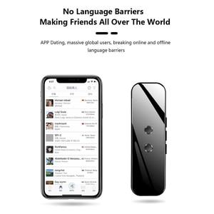 Image 1 - Portable Smart Voice Translator Device Real Time Voice 40+/70+ Language Translator Electronic 3 In 1 Bluetooth Translator