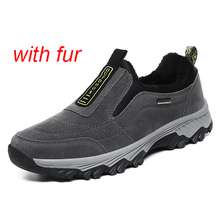 Warm Men Winter Shoes Casual With Fur Wa