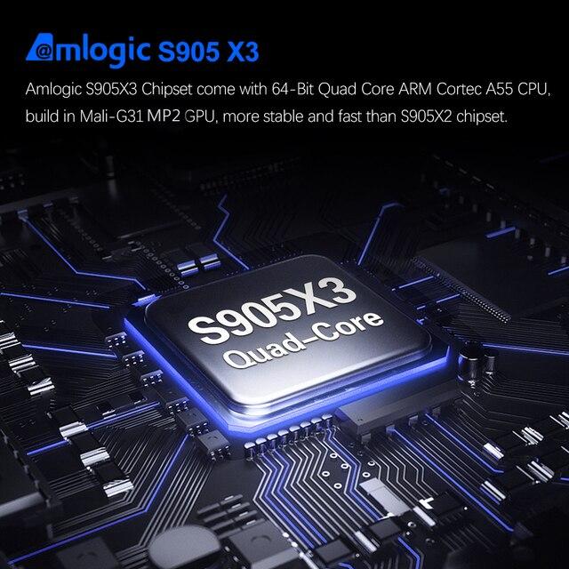 Приставка Smart-TV Vontar TOX 1, 4 Гб 32 ГБ 4K