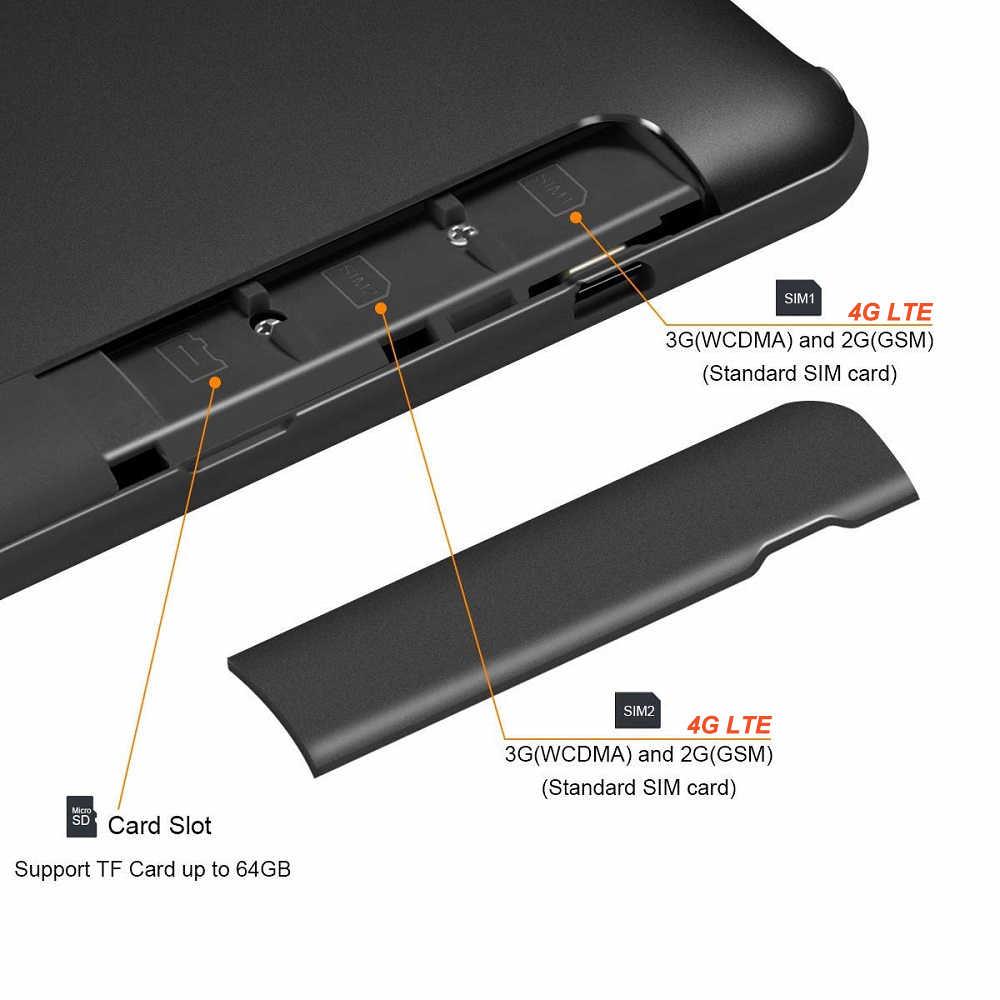 Глобальный Встроенная память 10 дюймовый планшет Deca Core, размер экрана 6 ГБ Оперативная память 128 Гб Встроенная память ОС Android 9,0 две камеры 1920*1200 ips Экран WI-FI, 4G, FDD, LTE, Планшеты
