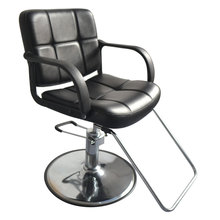 8837 Woman Barber Chair Black Suitable for Use in Barber Shops