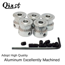 Aluminum MXL Timing Belt Pulleys 20 Tooth 5/6/6.35/8mm Bore Double Flange Drive Belt Pulleys for 3D Printer MXL Pulley high quality aluminum alloy no flange 64teeth htd8m pulley