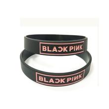 BLACK PINK Kpop Korean popular group silicone bracelet wristband For BLACK PINK custom jewelry