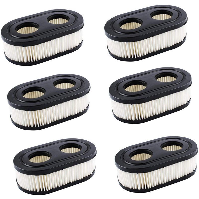 6Pack 593260 798452 Air Filter For Briggs & Stratton 550E To 725Exi Series Engines,Lawn Mower Air Filter 2Pack 593260 798452 Air