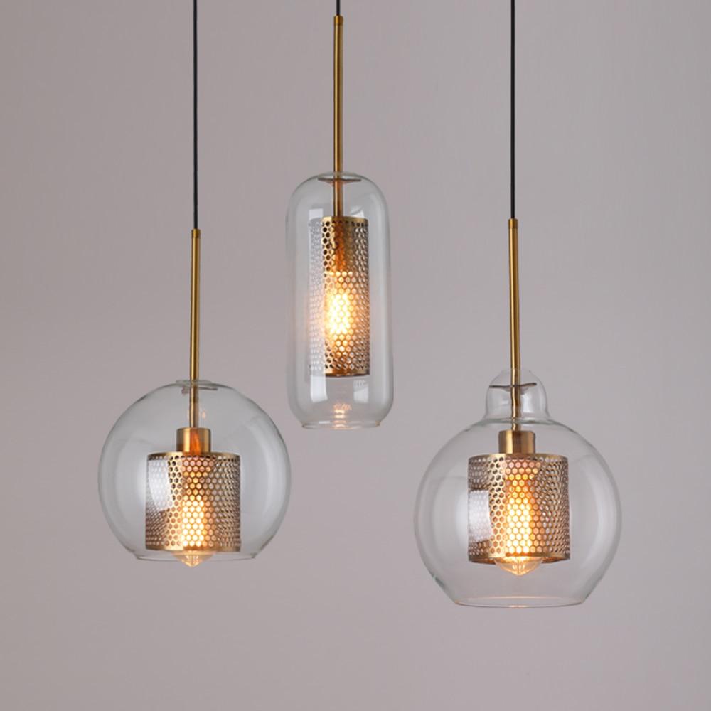 Лофт современный подвесной светильник, стеклянный шар, подвесной светильник, Кухонный Светильник закрепленный светильник, светильник для столовой, светильник для гостиной|Подвесные светильники|   | АлиЭкспресс - Люстры в дом