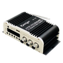 Kentiger-Hy-118 2.1 + 1 4 Saluran Output Subwoofer TF \ \ USB \ FM O Power Amplifier Stereo Amplificador(China)