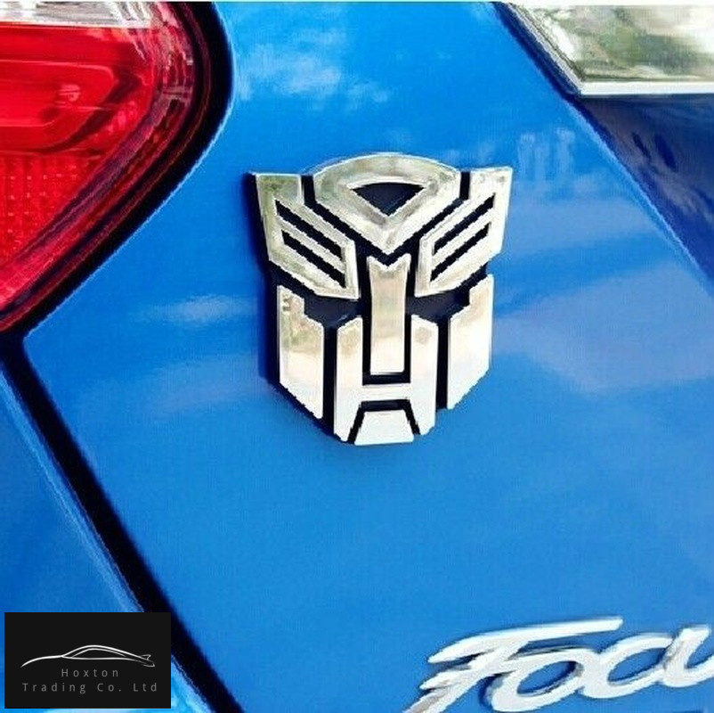 Autobots 3D Metal Car Stickers Transformers Badge Emblem Car Styling Tail Decal Motorcycle Car Accessories Automobile