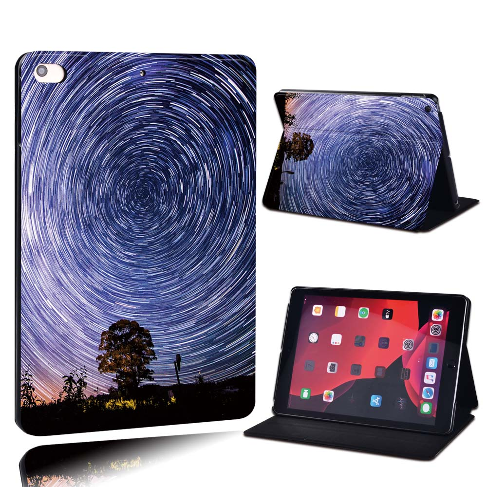 11.starry sky Gold For Apple iPad 8 10 2 2020 8th 8 Generation A2428 A2429 PU Leather Tablet Stand