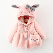 Vestes à capuche pour nouveau né, vêtements dextérieur chauds, en coton, à la mode, automne hiver