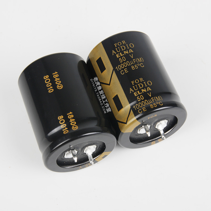 2PCS NEW ELNA FOR AUDIO 50V10000UF 30X40 LAO Series Supercapacitor La5 50V 10000UF Hifi For Filter Amplifier 10000UF/50V