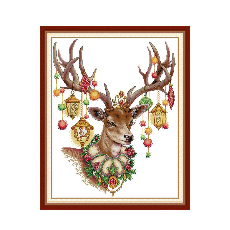 Holy Love Joy Sunday Cross Stitch Kit 11 14CT Printed Fab Needlework Embroidery