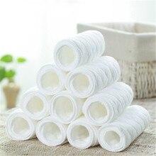 10 шт. детские подгузники для младенцев, тканевые подгузники, вкладыши, подгузники-подкладки