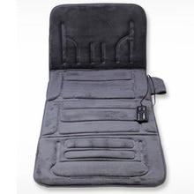 Массажный матрас для всего тела, многофункциональная Массажная подушка для наклона автомобиля, подушка для массажа шейного отдела позвоночника с подогревом