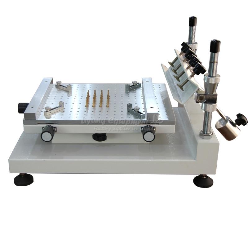 Solder Paste Printer ZB3040H Manual High Precision Silkscreen Printer Red Glue Printing Machine