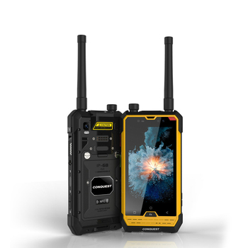 CONQUEST S1 NFC IP68 shockproof mobile phone OTG Walkie Talkie MTK6753 octa core 3GB + 32GB Android 6.0 4G Rugged Smartphone conquest s12 pro 4g rugged smartphone ip68 waterproof 5 99 inch ips android 9 0 6gb 128gb nfc outdoor walkie talkie mobile phone