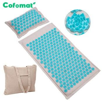 Массажный коврик (Cofomat/77x44 см) из натуральных материалов