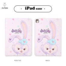 HelloKitty iPad Case For iPad 2 3/iPad AIR 1 2/iPad Pro 9.7/iPad 5 6th Gen 2017 2018 9.7 Duffy Leather Tablet Stand Folio Cover for ipad 2 3 4 5 6 7 air 1 2 3 pro 11 2018 2020 pu leather tablet stand folio cover ultra thin star colors slim case