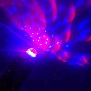 1 Pcs Mini USB LED Party Lights Stage Lumiere Effect Lamp 4W Portable Disco Ball Colorful Laser DJ Disco Light Music