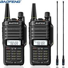 2 個 Baofeng UV XR トランシーバー 10 ワットハイパワー 4800mAh 防水デュアルバンド携帯双方向ラジオ + NA 771 アンテナ