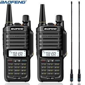 Image 1 - 2 PCS Baofeng UV XR Walkie Talkie 10W High Power 4800mAh WaterProof Dual Band Portable Two Way Radios+NA 771 Antenna