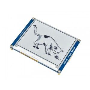 Image 3 - Waveshare 4.2 e נייר, 400x300,4.2 אינץ E דיו תצוגת מודול, תצוגת צבע: שחור, לבן. אין תאורה אחורית, רחב זווית, SPI interace,