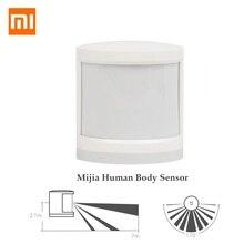 Original xiaomi sensor de corpo humano magnético casa inteligente super prático dispositivo acessórios inteligente dispositivo