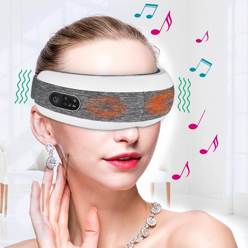 Massagem de olho inteligente miopia cuidados de saúde compressão de ar aquecimento massagem de olho massageador elétrico massagem de corpo inteiro