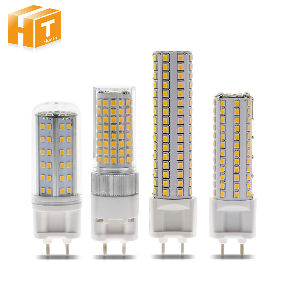 G12 LED Bulb Light AC85-265V 10W 1000LM 15W 1500LM High Brightness SMD2835 LED Corn Bulb Lamp.