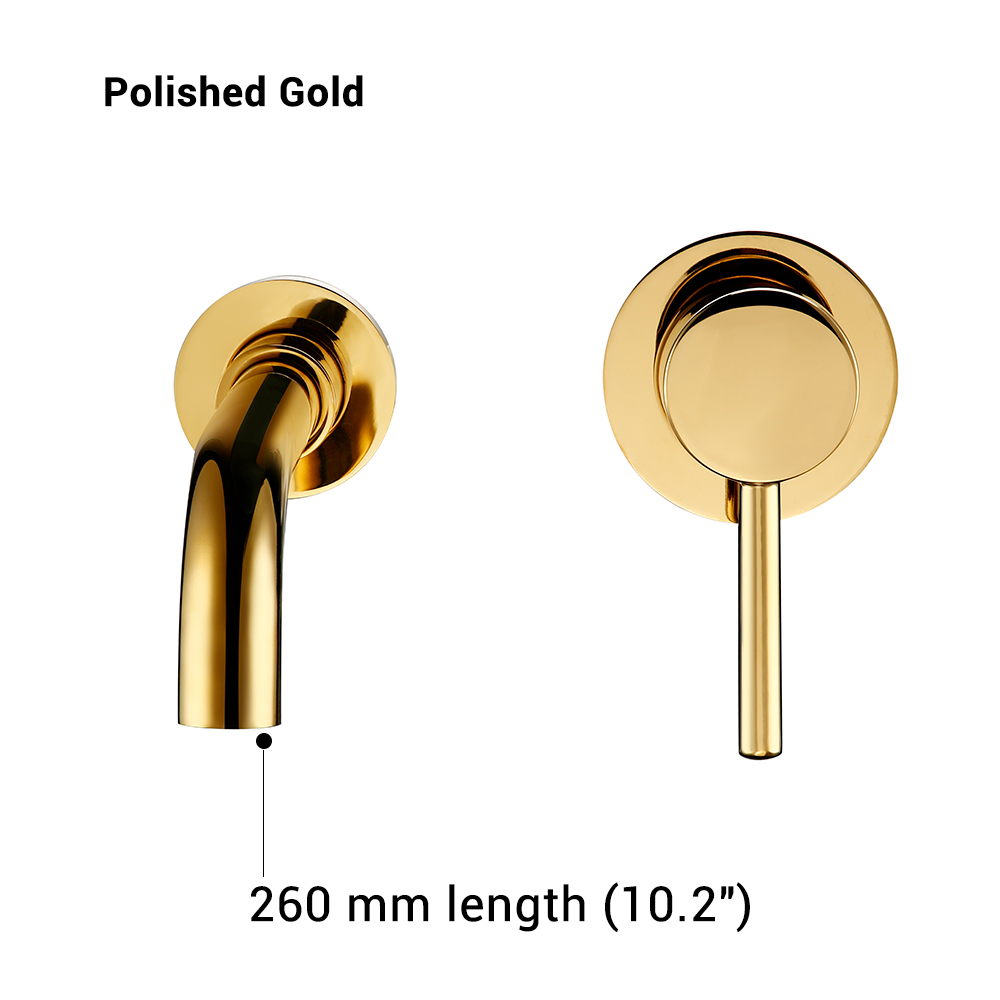Polished Gold-260 mm