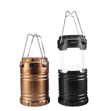 цена на Portable Solar Camping Light Outdoor Camping Tent Lantern Hiking Multifunction Spotlight Outdoor Camping Tools