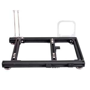Chassis Pc-Case ITX Computer Open-Frame ATX DIY Aluminum-Alloy M-ATX for with Auxiliary-Tool