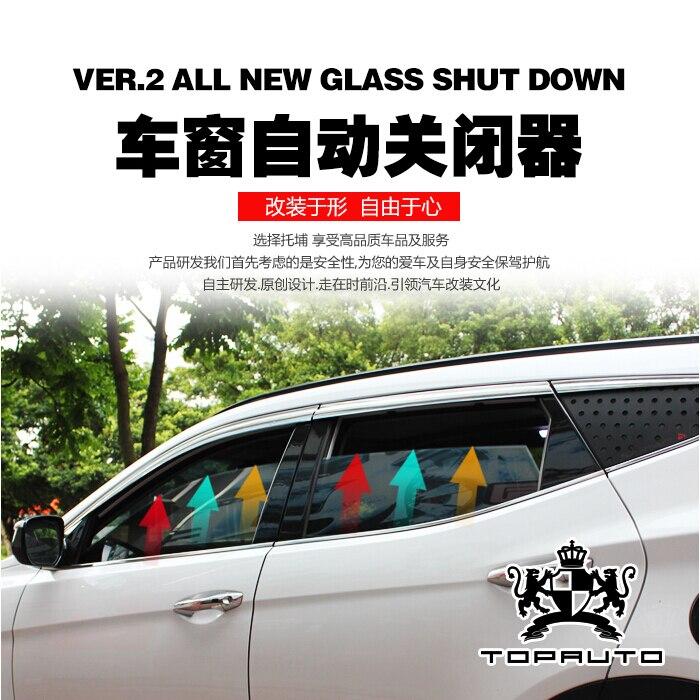 Per Hyundai Santa Fe 2013-2015 Dedicato Refit Finestra Automatica Sollevatore Chiusura di Montaggio