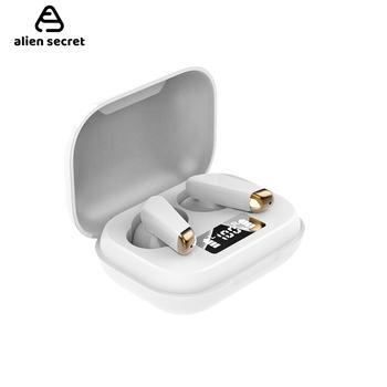 Mini White TWS Bluetooth V5 0 słuchawki słuchawki bezprzewodowe słuchawki Hifi sport wodoodporne bezprzewodowe słuchawki słuchawki douszne tanie i dobre opinie ALIEN SECRET Zaczep na ucho Dynamiczny CN (pochodzenie) Prawda bezprzewodowe 90dBdB Nonem Dla Telefonu komórkowego Do Gier Wideo