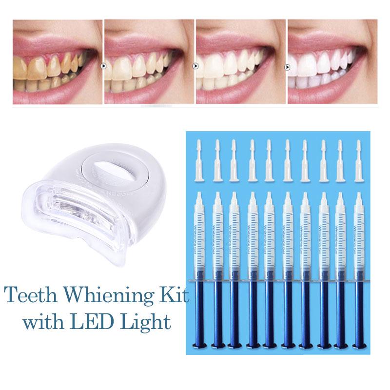 Teeth Whitening Kit Peroxide Dental Bleaching System Oral Gel Kit