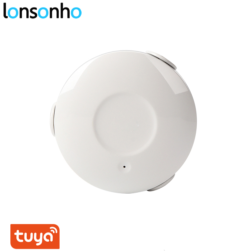 Lonsonho Tuya Smartlife Wifi Smart Leakage Sensor Water Detector No HUB Required Smart Home Automation Modules