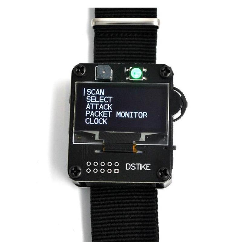 DSTIKE WiFi Deauther ساعة معصمه V2 يمكن ارتداؤها Esp ساعة ESP8266 مجلس التنمية ساعة ذكية DevKit NodeMCU