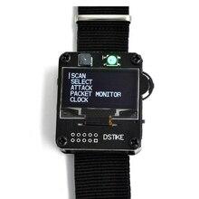 DSTIKE WiFi Deauther Della Vigilanza Del Wristband V2 Indossabile Esp Orologio ESP8266 Bordo di Sviluppo Smart Orologio DevKit NodeMCU I2 002