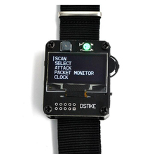 DSTIKE WiFi Deauther นาฬิกาสายรัดข้อมือ V2 สวมใส่ ESP นาฬิกา ESP8266 Development BOARD สมาร์ทนาฬิกา DevKit NodeMcu I2 002